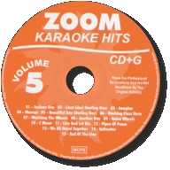 Zoom Karaoke Hits - Volume 05 (CD+G)