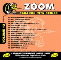Zoom Karaoke Hits - Volume 12 (CD+G)