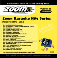 Zoom Karaoke Hits - Volume 15 (CD+G)