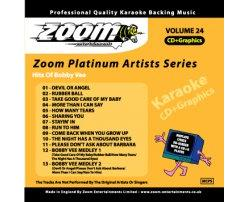 Zoom Karaoke Platinum Artists: Bobby Vee (CD+G)