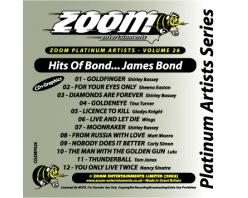 Zoom Karaoke Hits Of James Bond - Special Edition (CD+G)