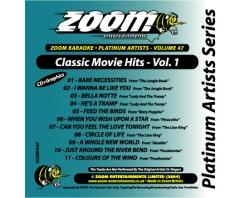 Zoom Karaoke Platinum Artists: Movie Hits Vol.1 (CD+G)