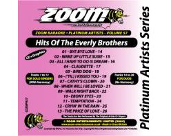 Zoom Karaoke Platinum Artists: Everly Brothers (CD+G)