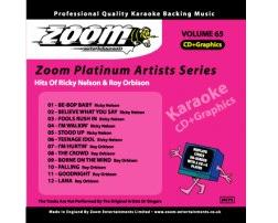 Zoom Karaoke Platinum Artists: Ricky Nelson & Roy Orbison (CD+G)