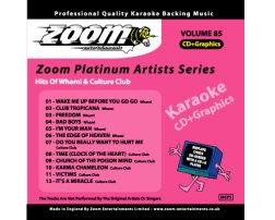 Zoom Karaoke Platinum Artists: Wham & Culture Club (CD+G)