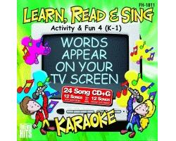 Activity & Fun 4 (K-1) (CD+G)