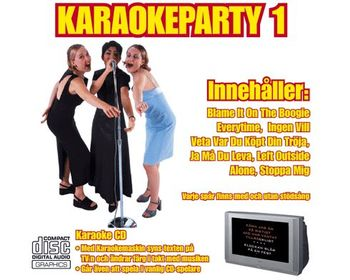 Karaokeparty 1 (CD+G)