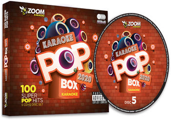 Zoom Karaoke Pop Box 2020 - A Year In Karaoke Party Pack (5 CD+G's)