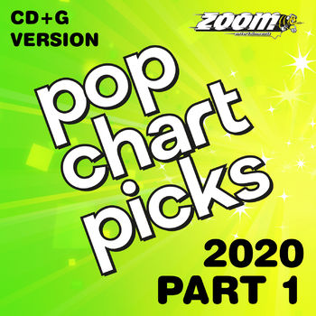 Zoom Karaoke Pop Chart Picks 2020 - Part 1 (CD+G)